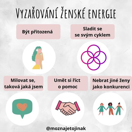 Ženská energie Instgram